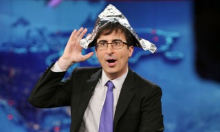 John Oliver guest hosting The Daily Show.